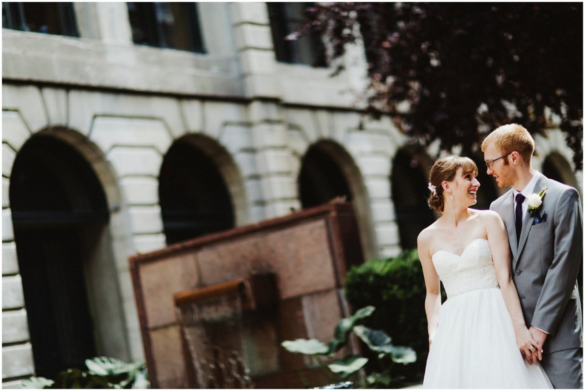 Rebecca + Patrick - Intercontinental Montreal Wedding