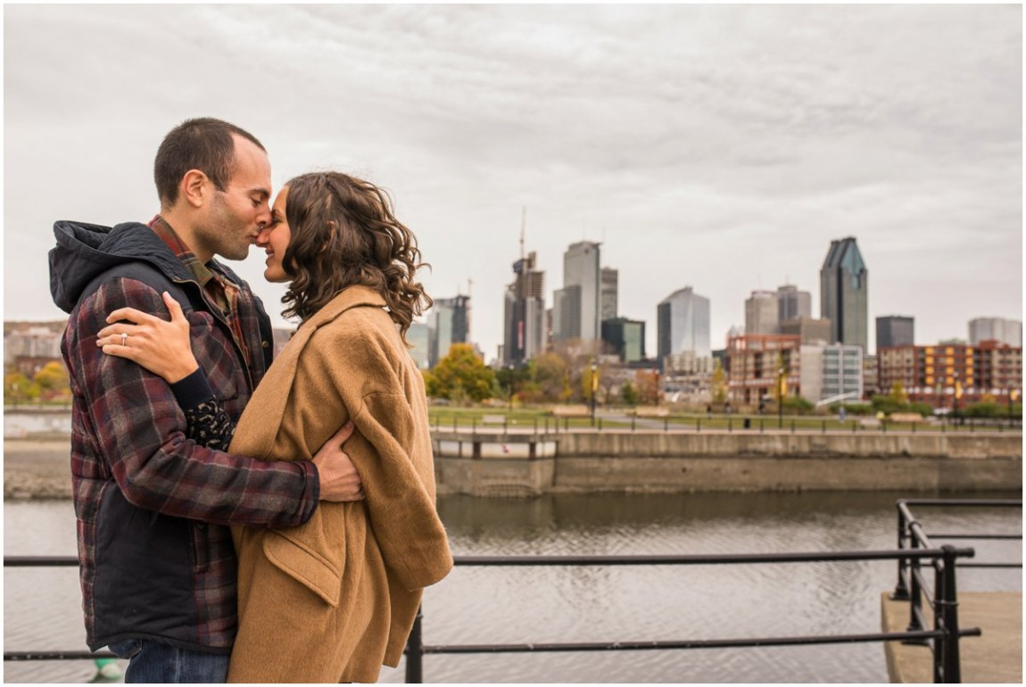 Alex + Simon - Montreal Engagement Shoot