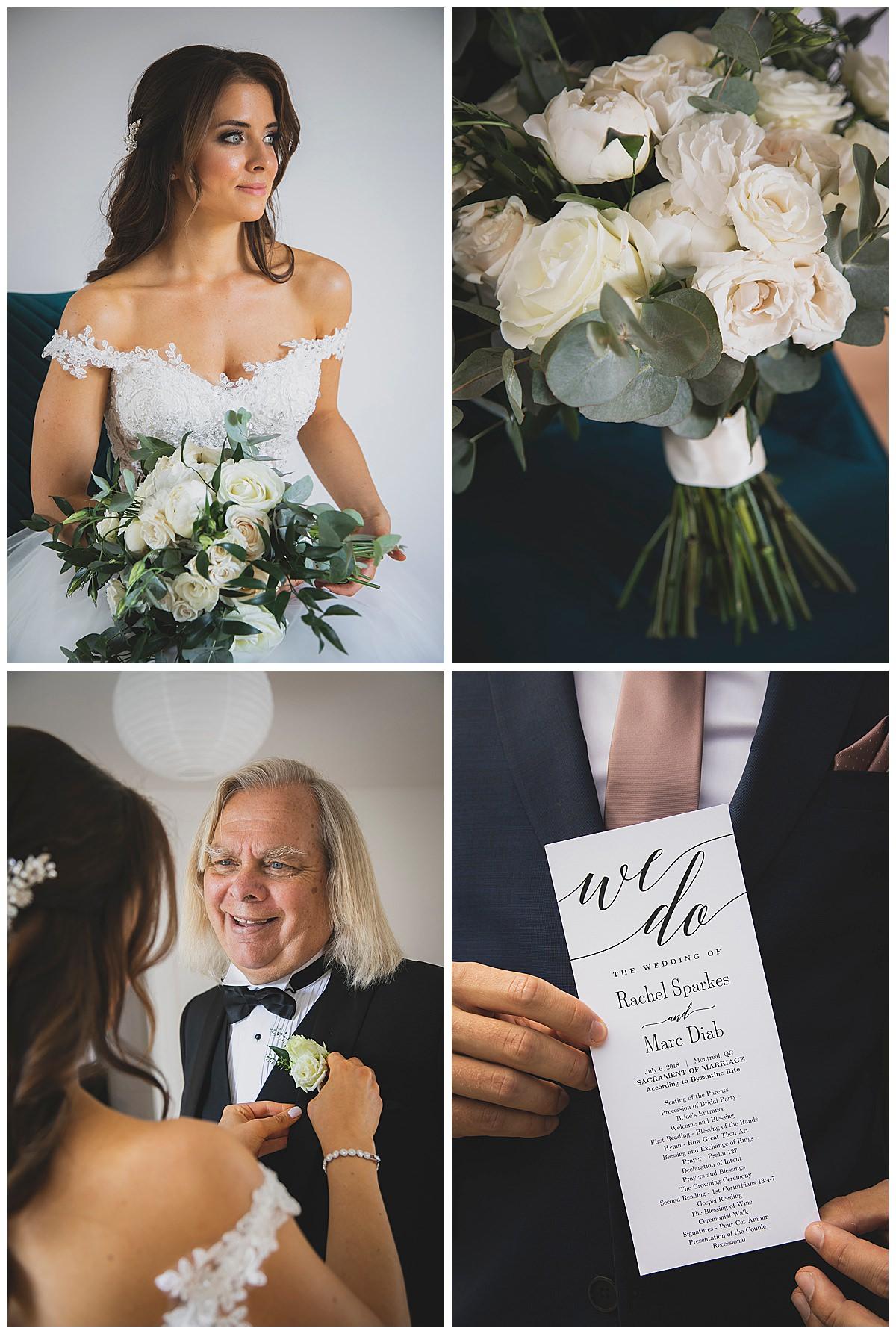 Theatre Paradoxe wedding photos