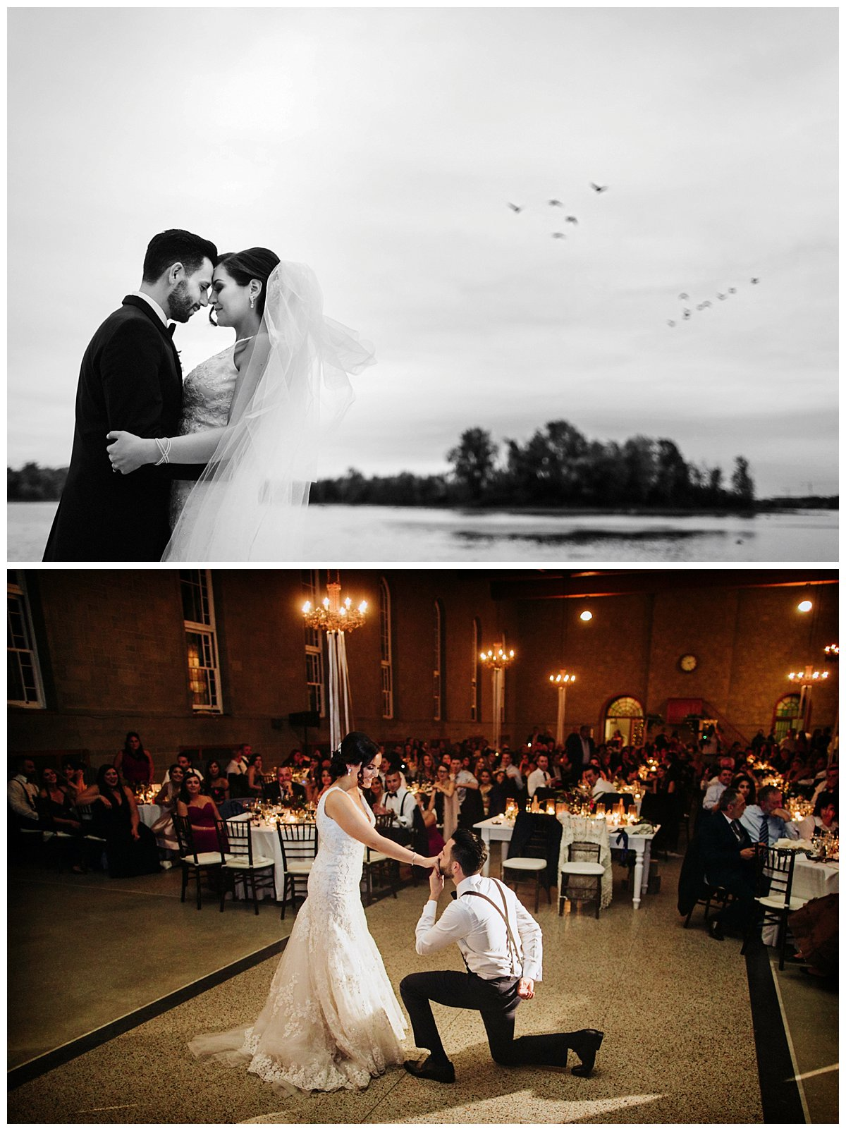 l'Abbaye d'Oka Wedding photos