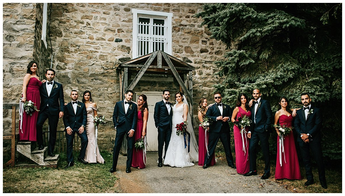 bridal party montreal