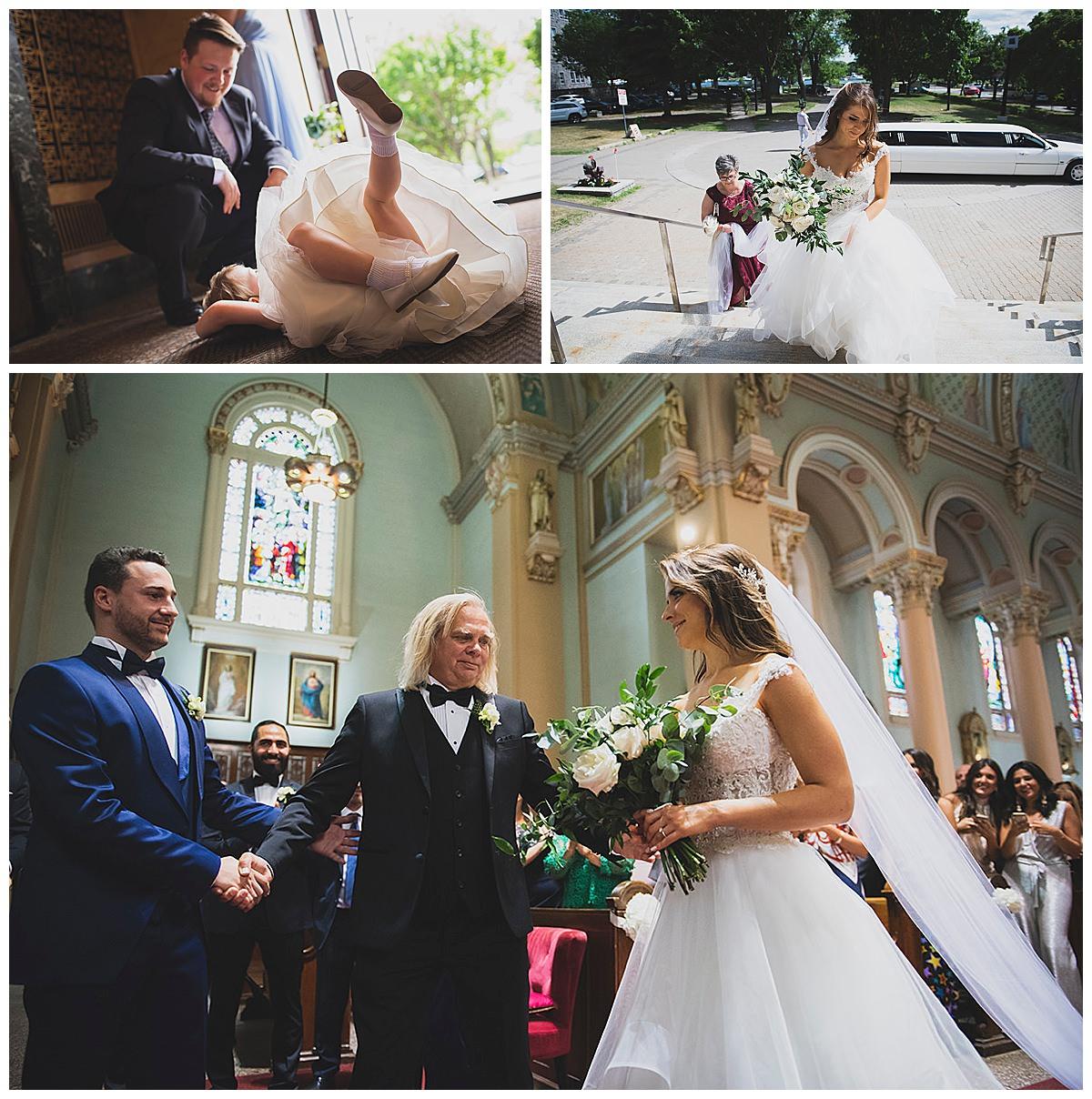 Paroisse Saints-Anges wedding