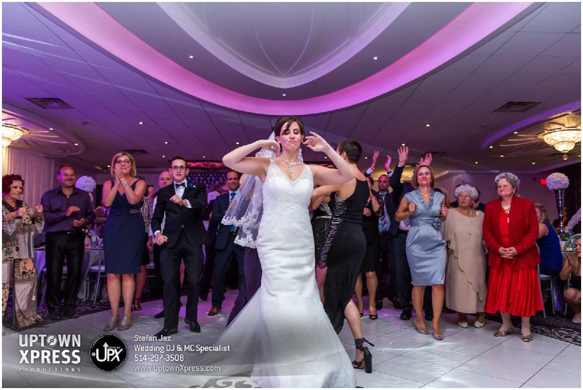 Dancefloor for a wedding in Montreal