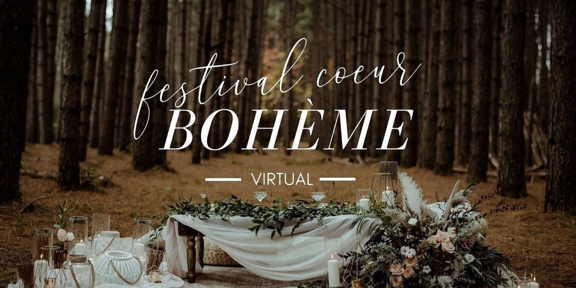 The Coeur Bohème Virtual Wedding Festival - 23-24 January 2021